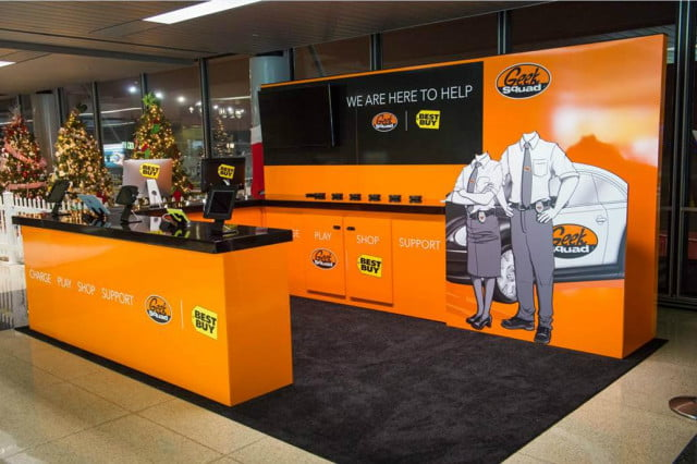 best buy geek squad chicago airport christmas