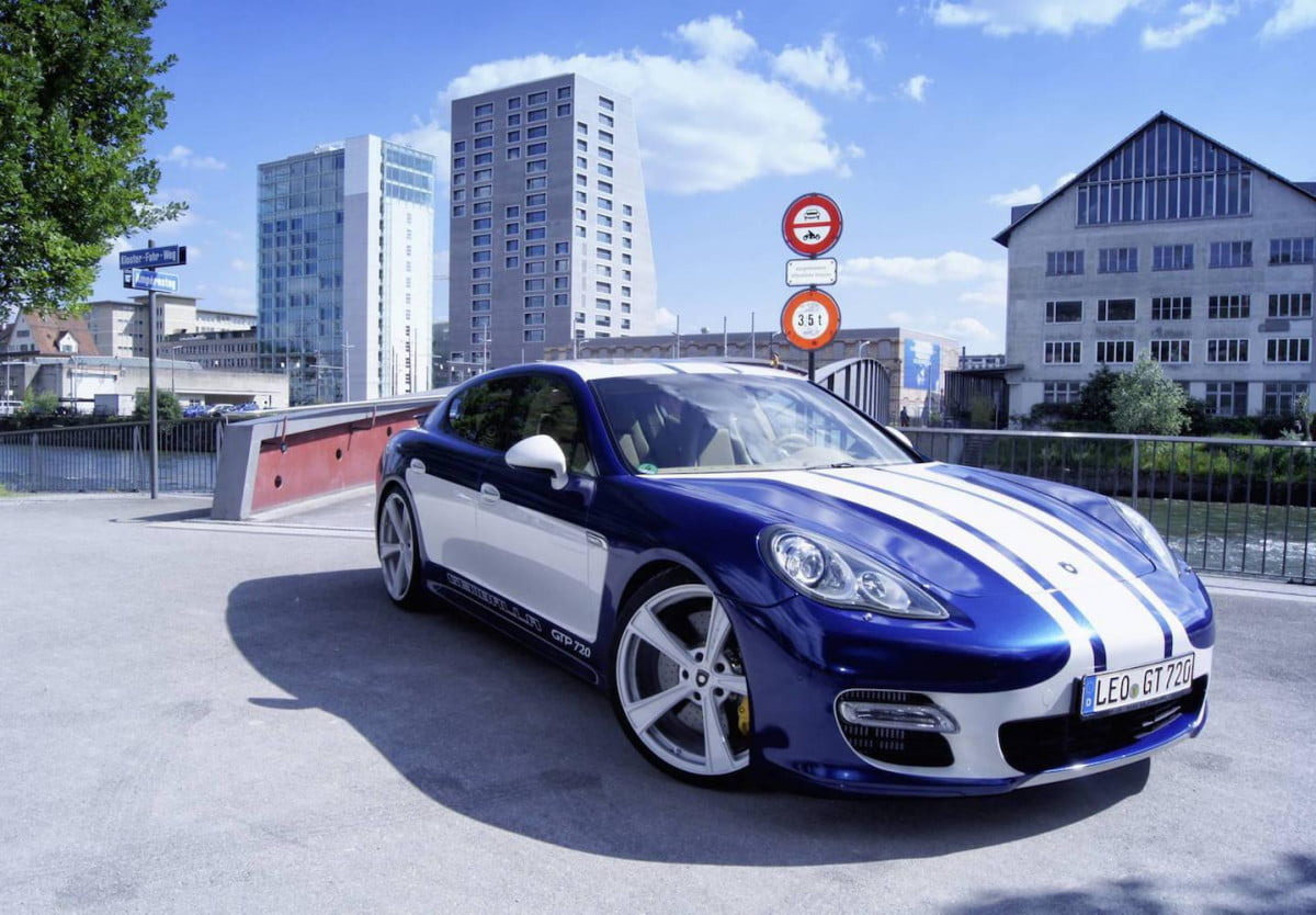 gemballa gtp  is the fastest panamera ever