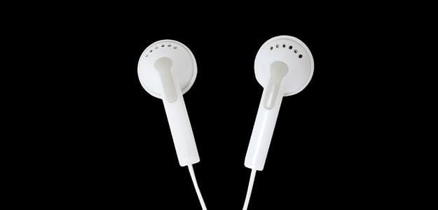 generic common earbud headphones