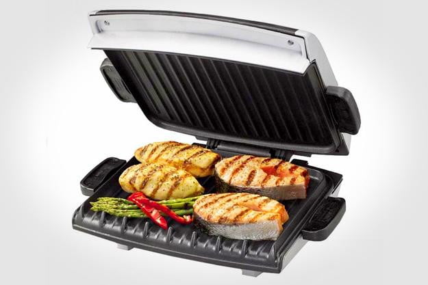 George Foreman grill hybrid device