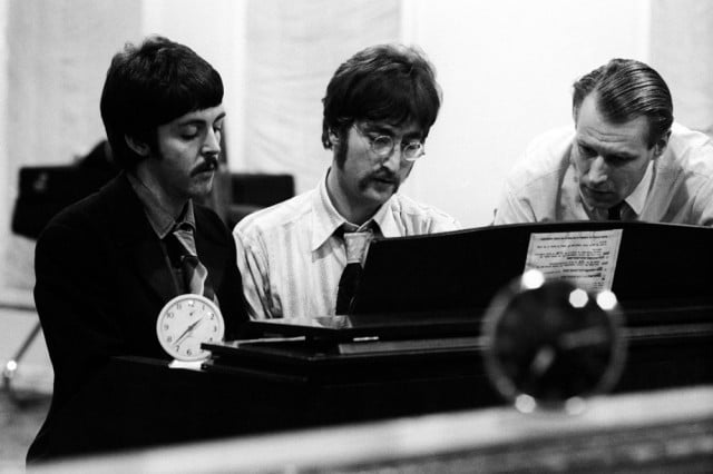 the beatles anthology hits streaming services george martin