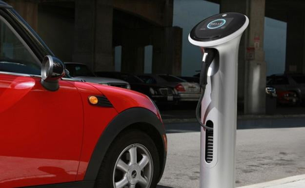 GE's WattStation Connect lets you charge your neighbor's wheels and wallet