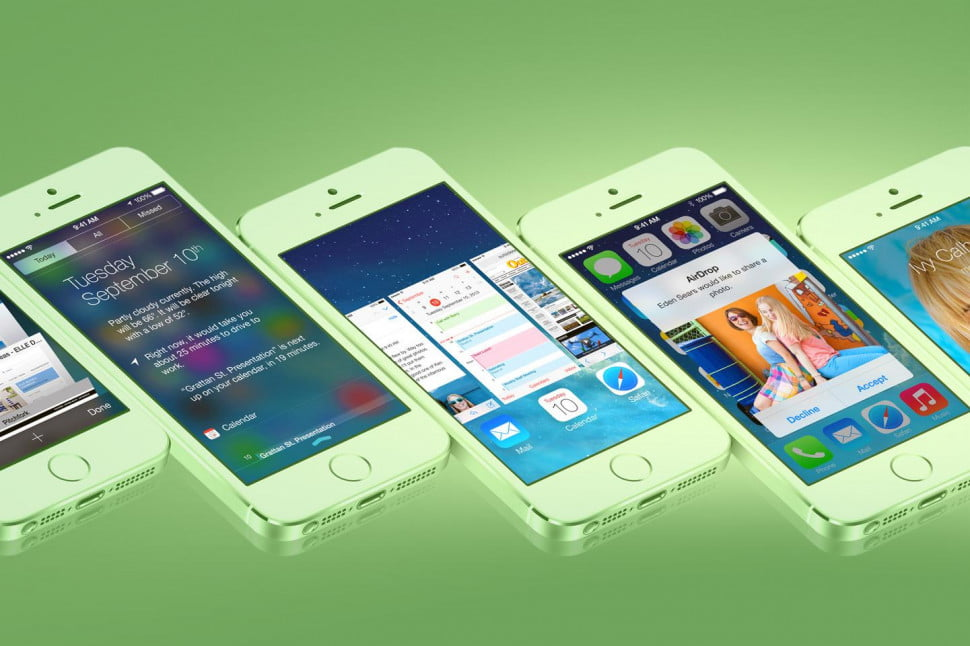 Get iOS 7 early main