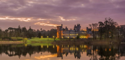 Get your royal warrior fantasy on at Dromoland Castle