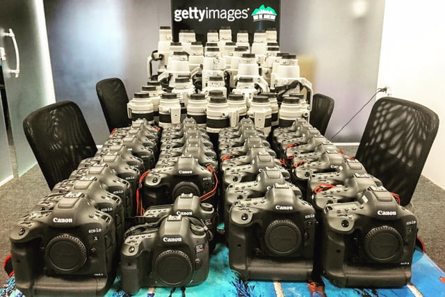 getty images camera lenses equipment insane canon olympic games cameras