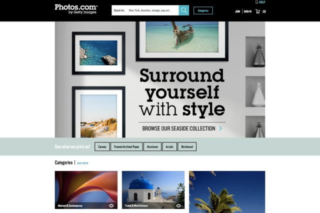 getty images launches photos com dot frontpage