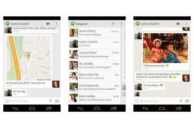 google brings sms support hangouts well outfits location sharing gifs gh all
