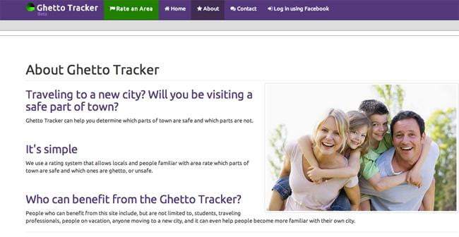ghettotracker-original homepage