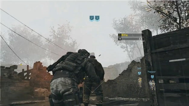ghost recon future soldier sneak attack
