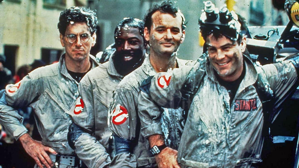 ghostbusters goes back theaters  th anniversary gets new blu ray set