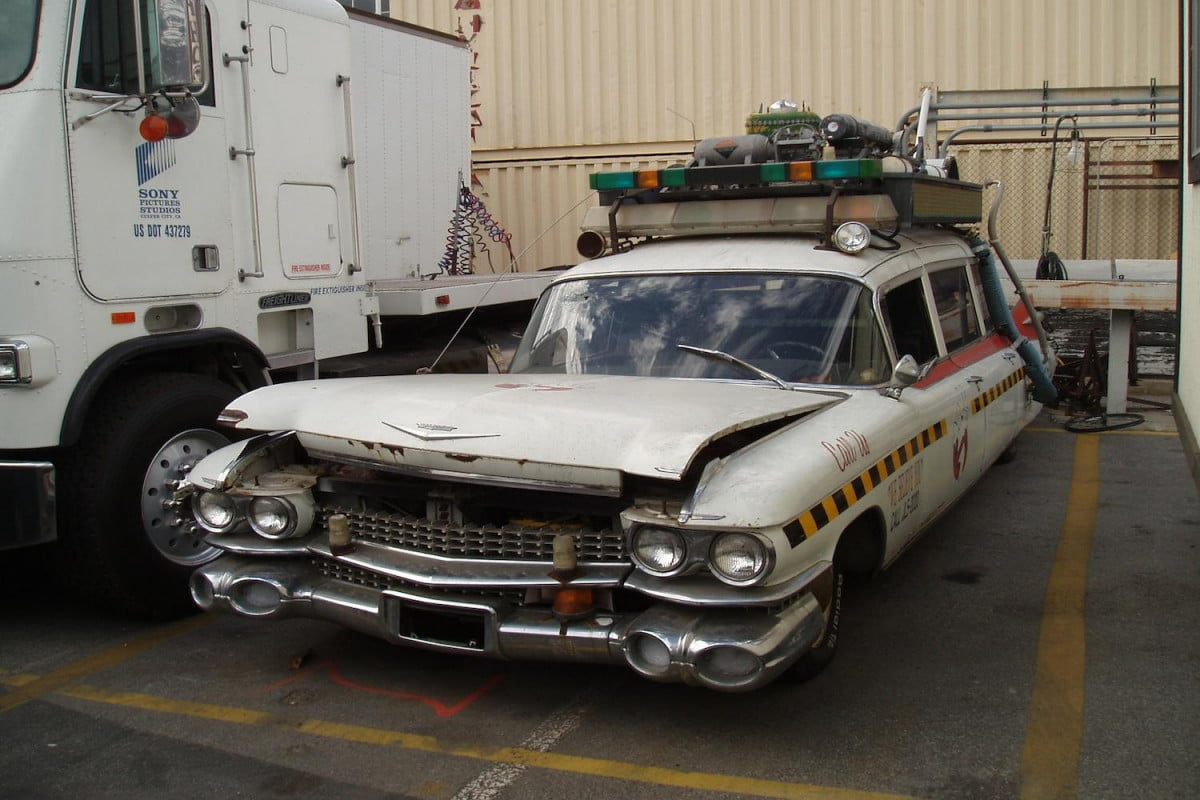 fans rally to restore ghostbusters ecto  a cadillac ambulance