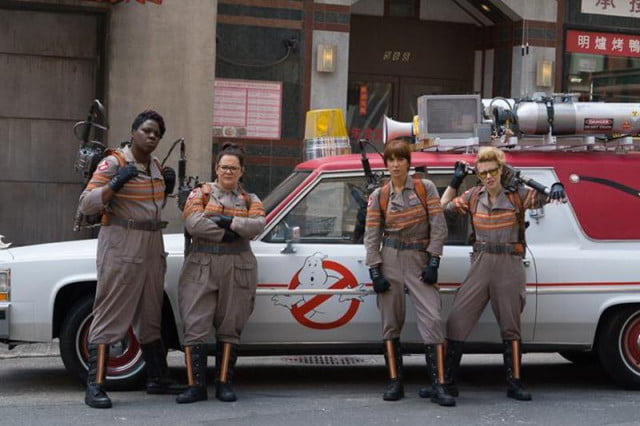 take your first look at the brand new ghostbusters team reboot