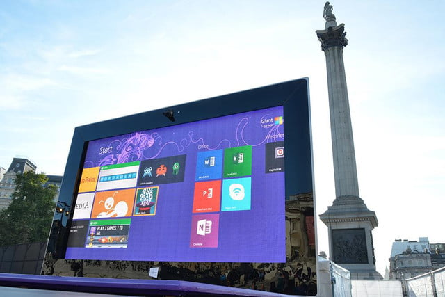 microsoft giant surface  and product placement pro london verge