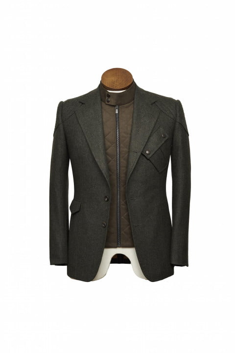 bentley takes bespoke to your torso with these savile row driving jackets gieves hawkes bespokedrivingjacket front
