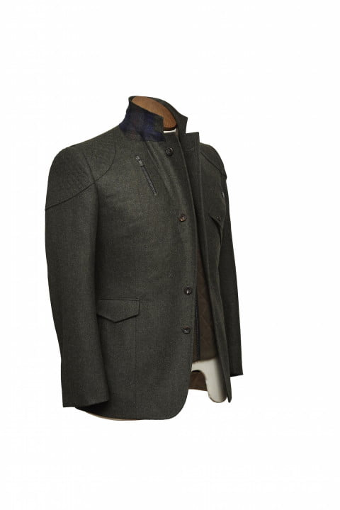 bentley takes bespoke to your torso with these savile row driving jackets gieves hawkes bespokedrivingjacket frontthreequarte