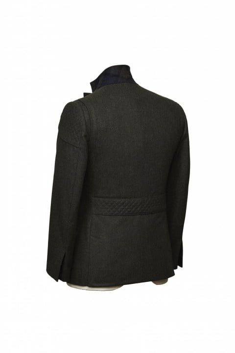 bentley takes bespoke to your torso with these savile row driving jackets gieves hawkes bespokedrivingjacket rearthreequarter