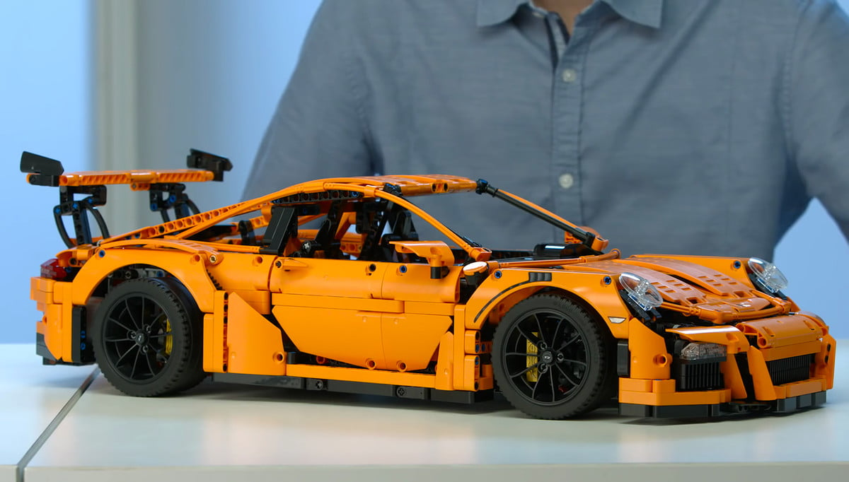 gift guide for car enthusiasts gifts lovers lego porsche  gt rs