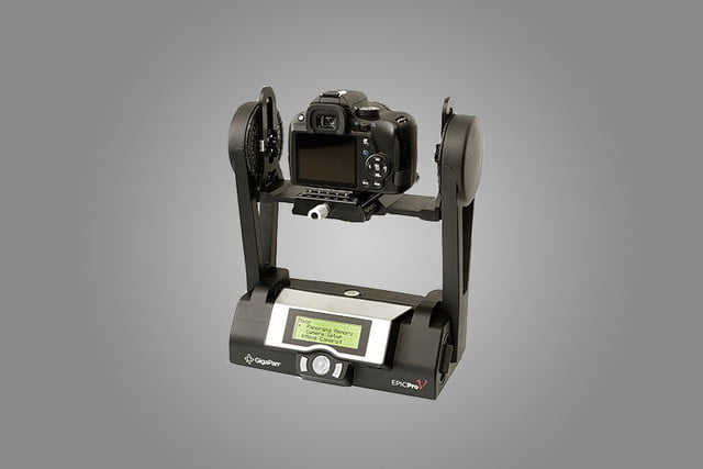 gigapan epic pro v adds video time lapse modes