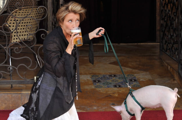 Emma Thompson gets honored with a star in the Hollywood Walk Of Fame in front of the Pig and Whistle Pub in Hollywood, Ca