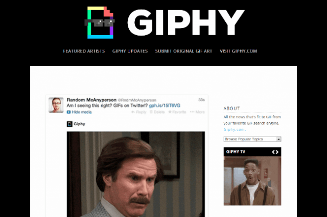 gifs now available twitter sort kind giphy