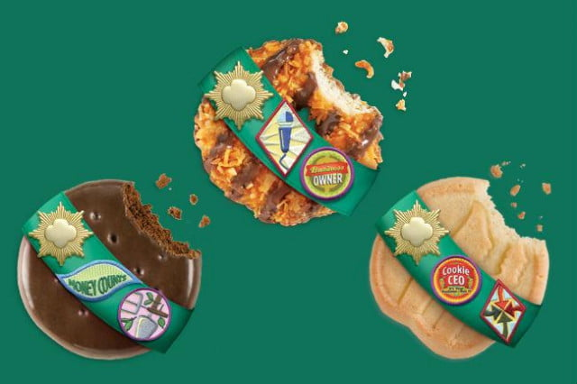 you can buy girl scout cookies online or with an app
