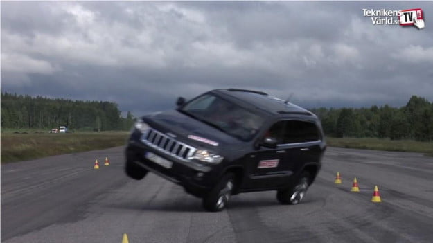 Swedish magazine calls Jeep Grand Cherokee unsafe