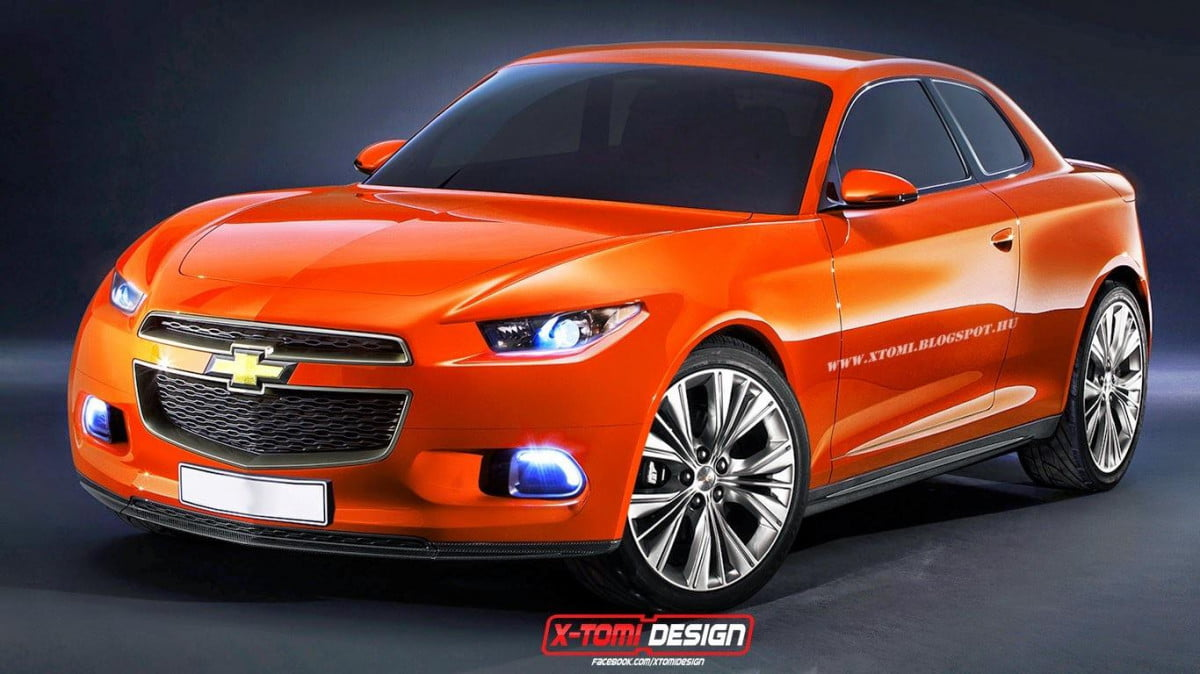 chevrolet code  r production rendering gm coupe