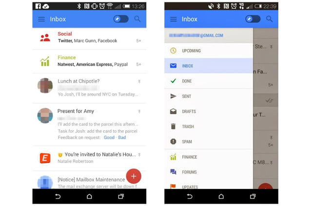 google testing new gmail features for improved mobile experience