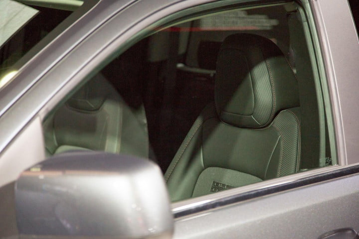gmc canyon european refinement mated unabashedly american truck interior drivers