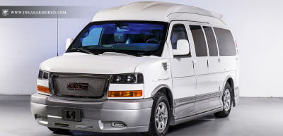 Inkas armored GMC Savana