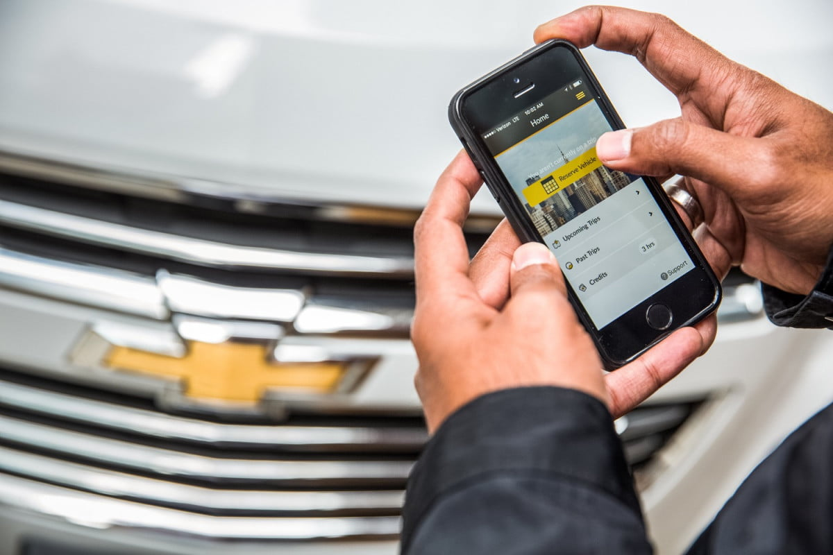 gm unveils car sharing program for the big apple s let drive nyc