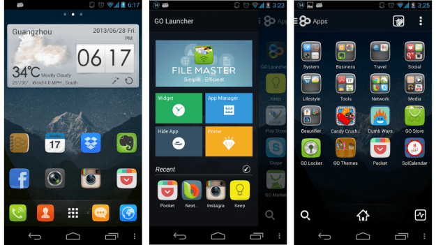 GO-Launcher-Android-apps-screenshot
