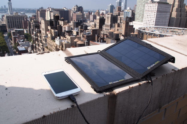 Goal Zero Solar Charger nomad 7 guide 10 plus