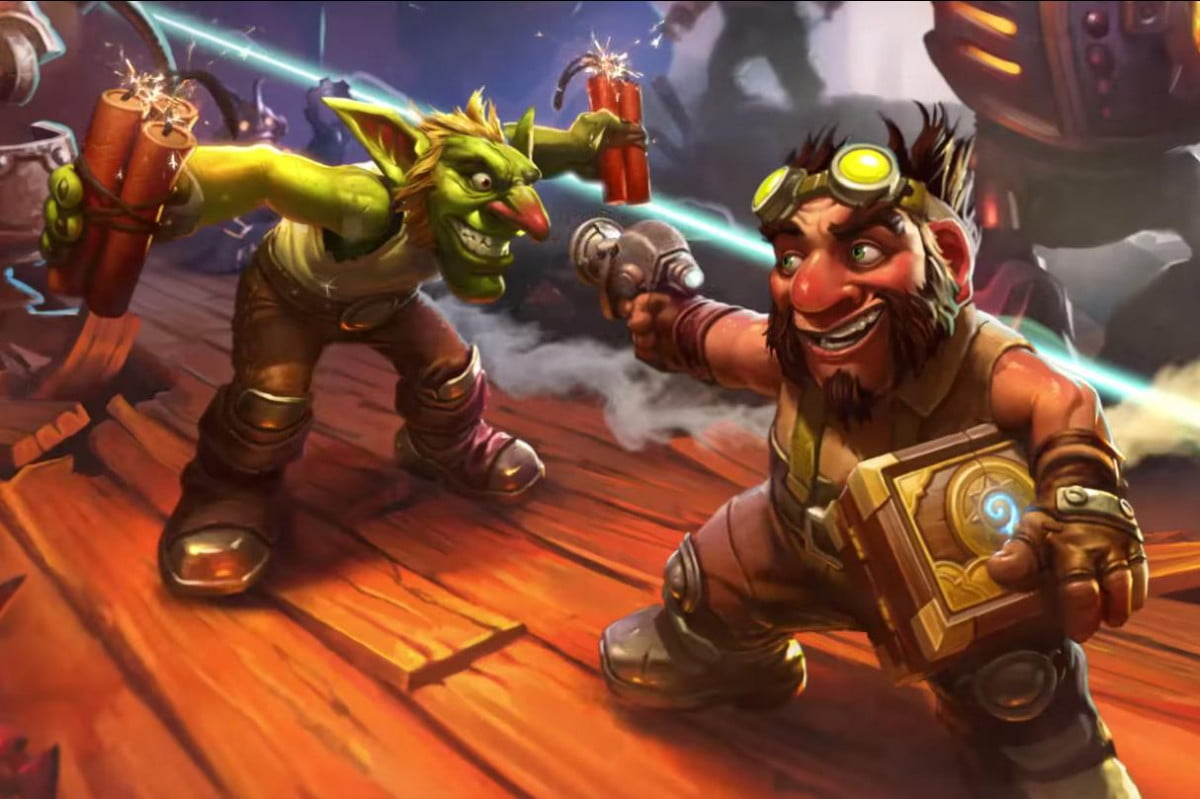 goblins gnomes blow sky high hearthstones next expansion vs