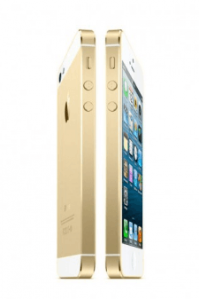 Gold iPhone 5S mockup
