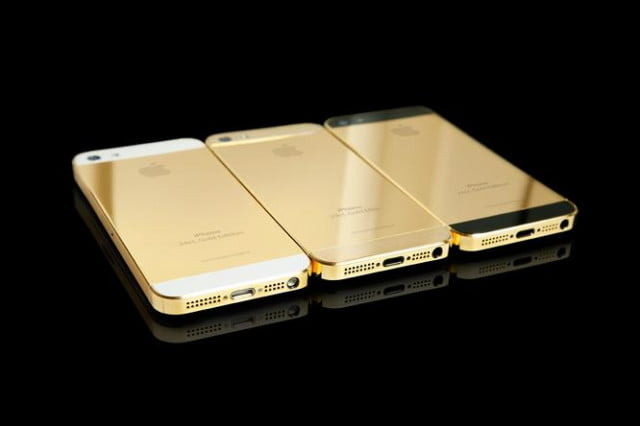 gold iphone mockups