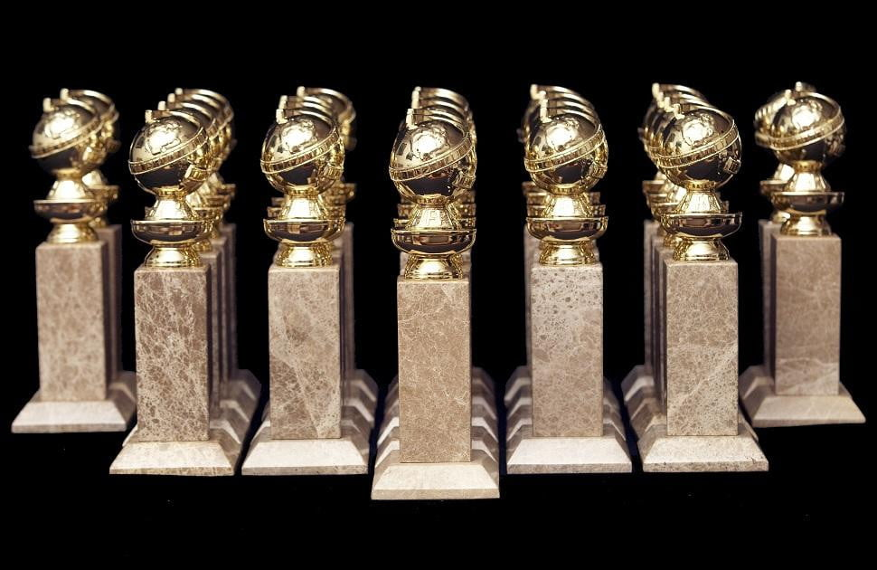 Image result for golden globe trophy