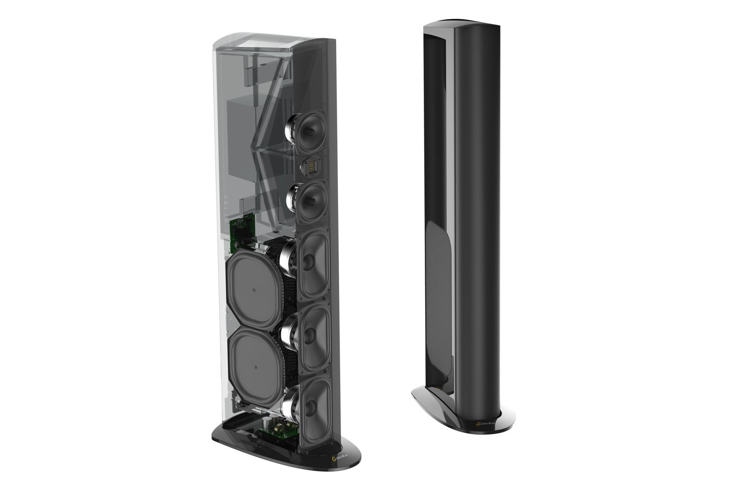 goldenear debuts triton reference loudspeaker at ces digital trends on the high end the new reference high velocity folded ribbon hvfr tweeter uses 50 percent more rare earth neodymium magnet material than the company s