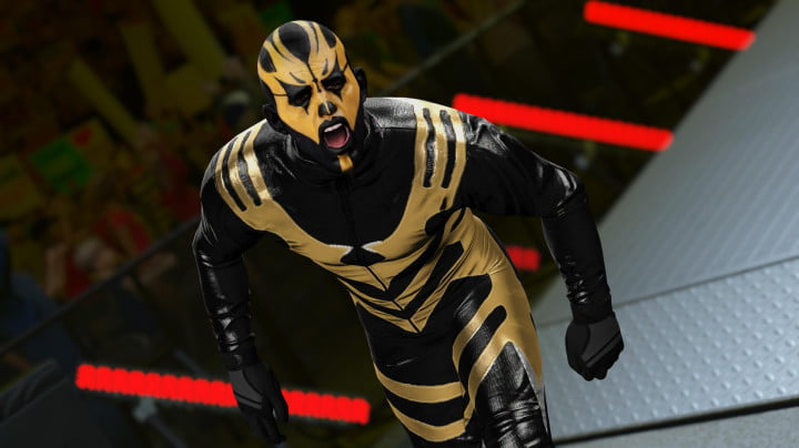 k leaves mini game mark wrestling wwe goldust ent ss