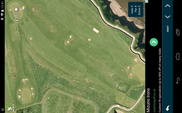 Golf_Pad_Android_tablet_app_screenshot