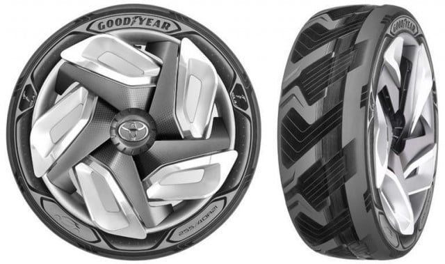 goodyear bh  and triple tube concept tires