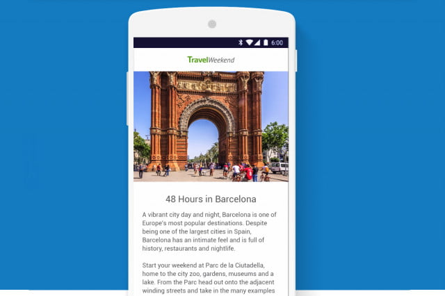 google accelerated mobile pages amp