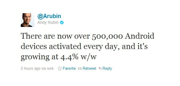 google-andy-rubin-android-tweet