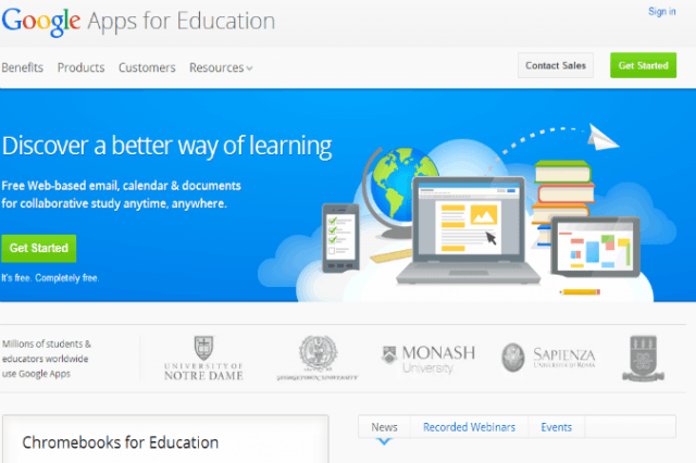 google stops mining data from apps for education advertisements ed