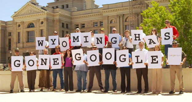 Wyoming state government goes with Google's cloud