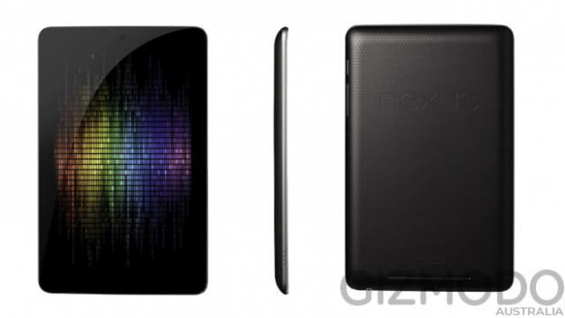 Google Asus Nexus 7 tablet rumored leaked shot