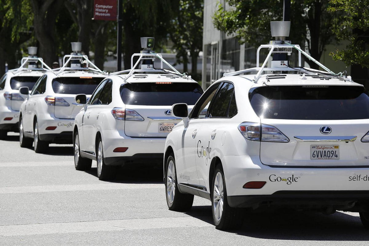 google reveals  self driving accidents news pictures car