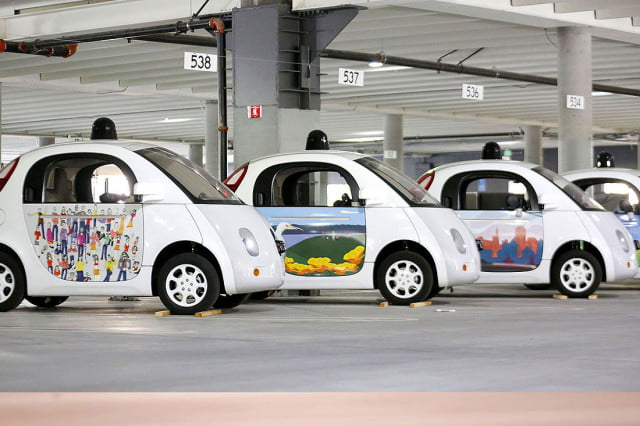 google driverless car hiring cars legal
