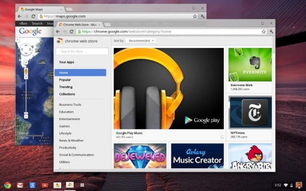 Google Chrome OS 2012