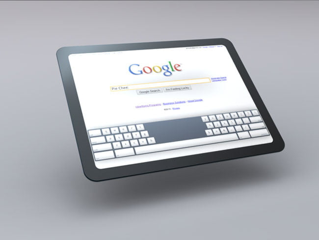 Google Chrome OS Tablet Concept